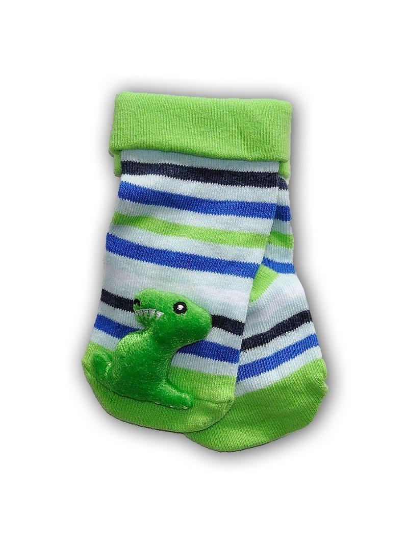 Kojinės su barškučiais DINO