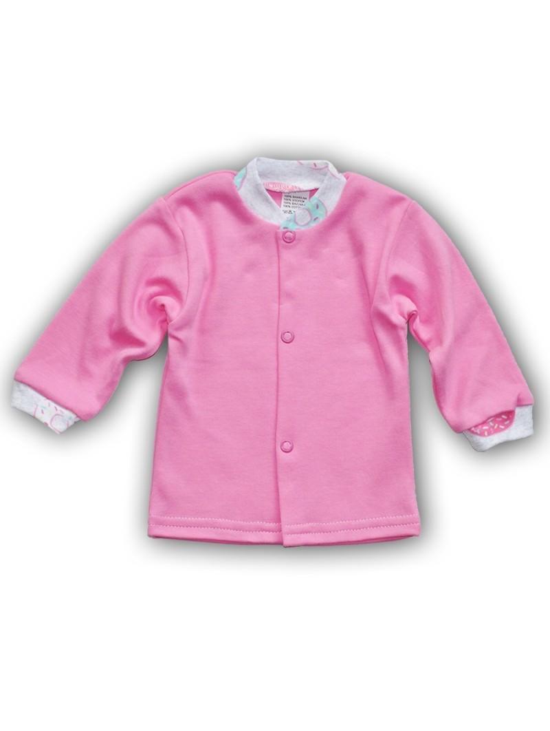 Rožiniai marškinėliai COOKIES