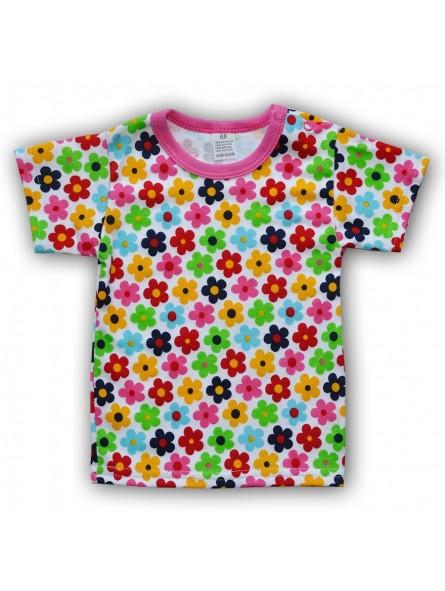 Gėlėti marškinėliai