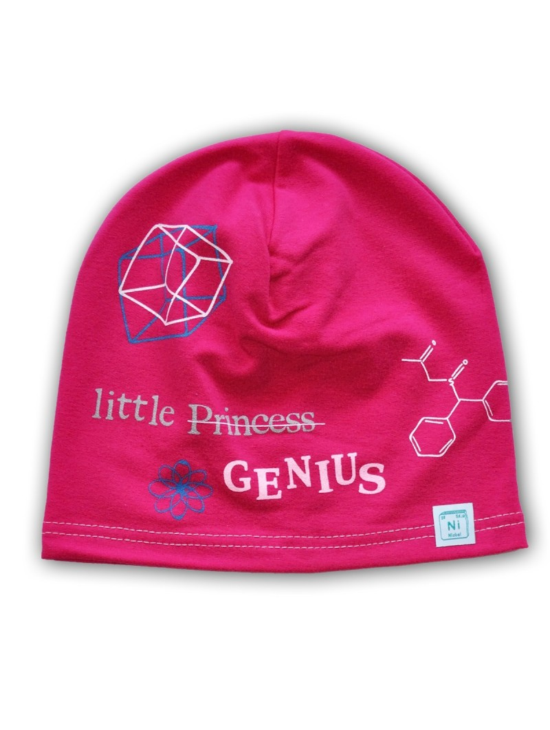 Rožinė kepurė GENIUS