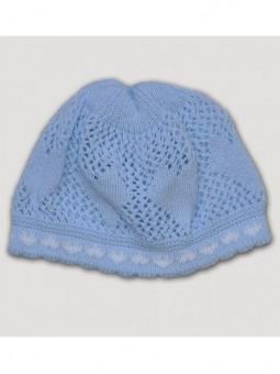 Megzta kepurė 'Širdelės'