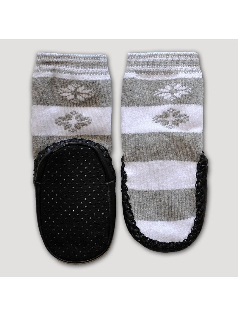 Kojinės odiniu paduku 'Snaigės'
