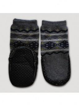 Kojinės odiniu paduku 'Rombai'