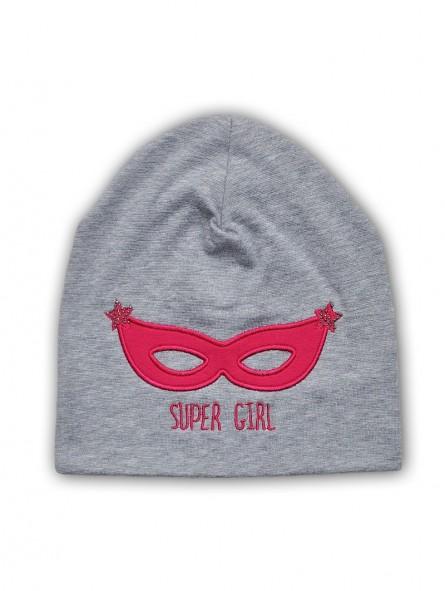 Trikotažinė kepurė SUPER GIRL
