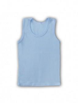 Mėlyni berankoviai marškinėliai