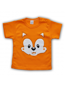 Oranžiniai marškinėliai FOX