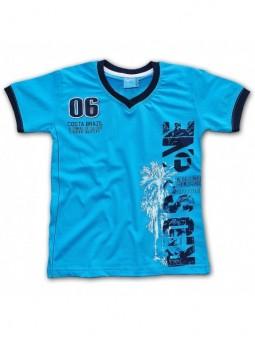 Melsvi marškinėliai RIOS
