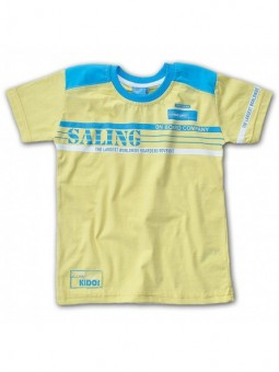 Geltoni marškinėliai SALING
