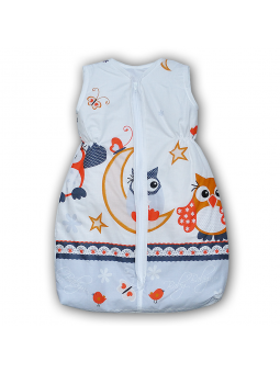 Baby sleeping bag OWL grey