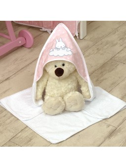 Hooded towel SKY BUNNY