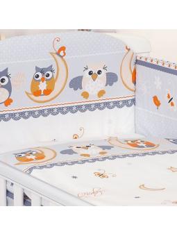 Patalynė kūdikiams OWL pilka