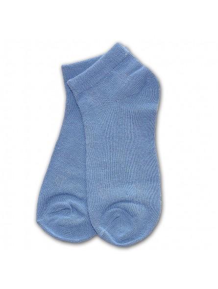 Mėlynos trumpos kojinės