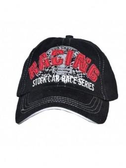 Juoda kepurė 'Racing'