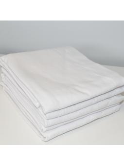 White flannel diaper