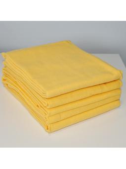 Geltonas flanelinis vystyklas