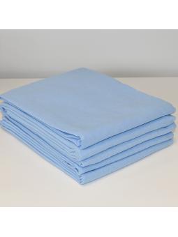 Blue flannel diaper