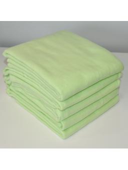 Green flannel diaper