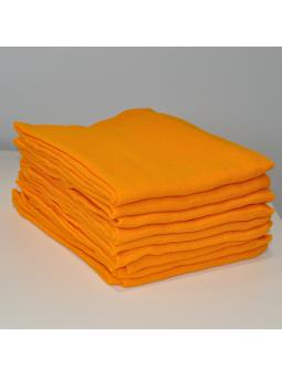 Oranžinis marlinis vystyklas