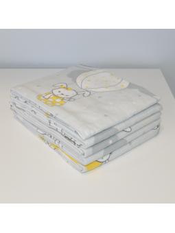 Flannel diaper BUNNY