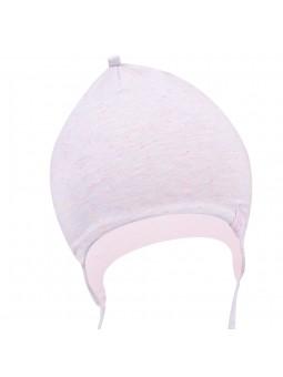 Pilkšva trikotažinė kepurė