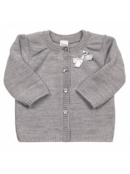 Pilkas megztinukas