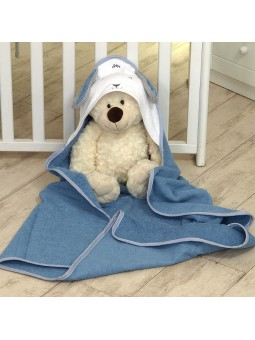 Hooded towel BUNNY