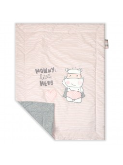 Baby blanket HERO pink