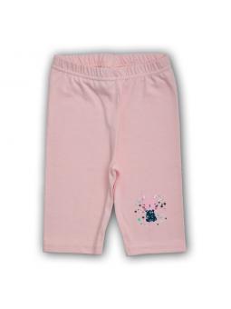 Pink short leggings