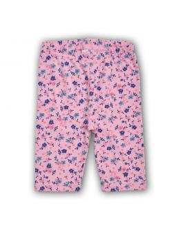 Flowered short leggings