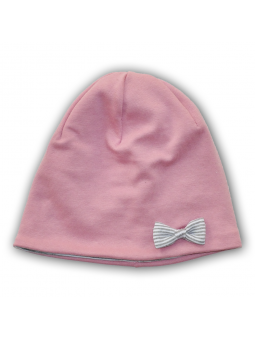 Cotton girls cap BOW