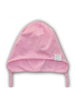 Trikotažinė kepurė ŠIRDELĖ